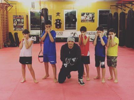 corso bronxgym kickboxing cesena children