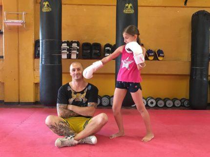 corso bambini bronxgym kickboxing cesena