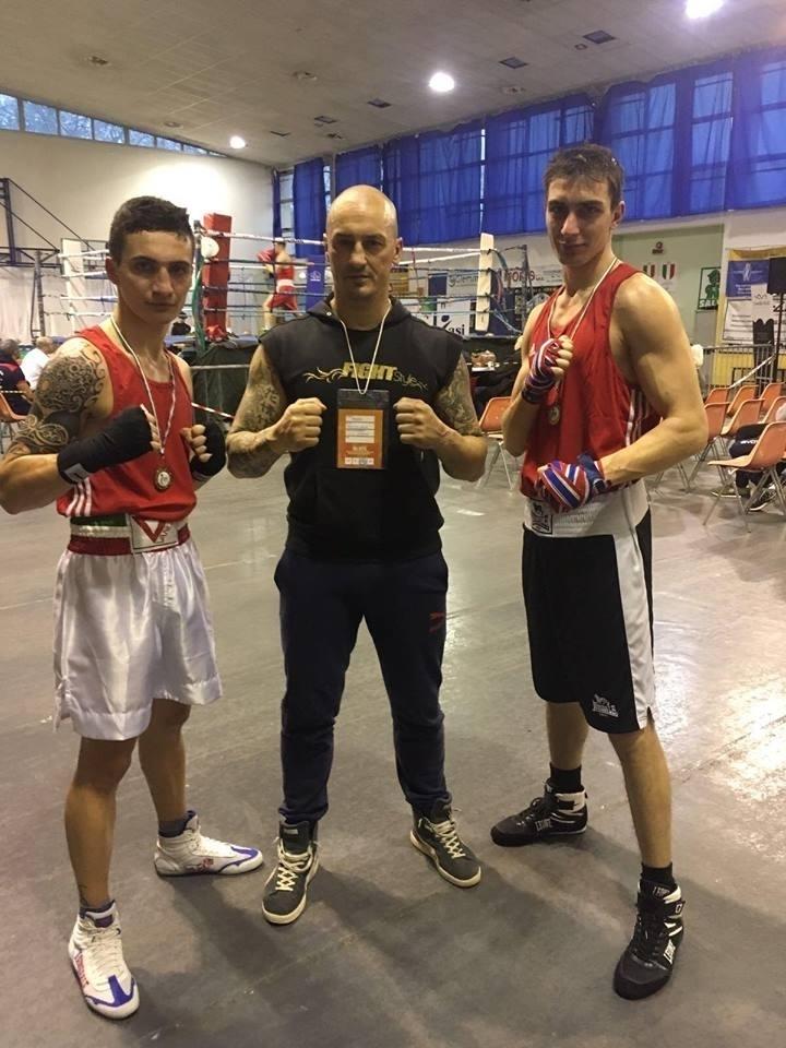 """maestro allievi """"francesco onofri"""" """"marius bufnila"""" pugilato boxe combattimento gara win vittoria"""